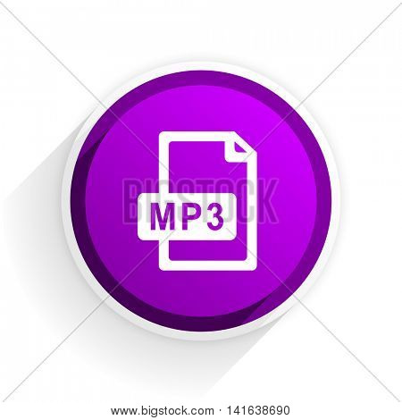 mp3 file flat icon