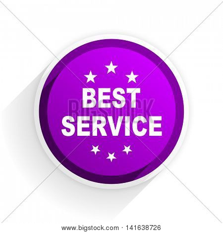 best service flat icon