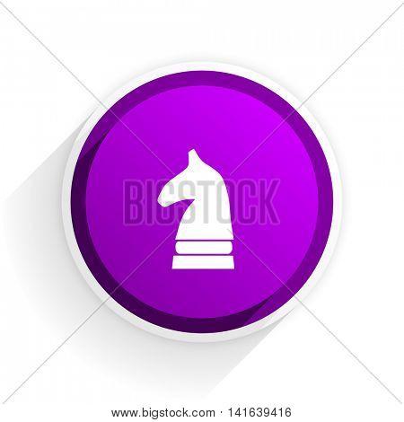 chess horse flat icon
