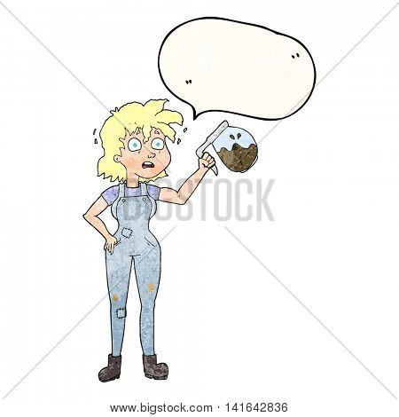 too much coffee freehand drawn texture speech bubble cartoon