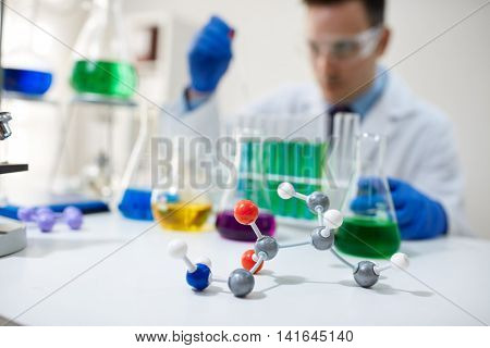 dna, molecule, chemistry in laboratory science test