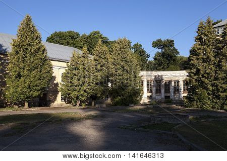 photographed an ancient palace, located in the village Svyatsk Belarus