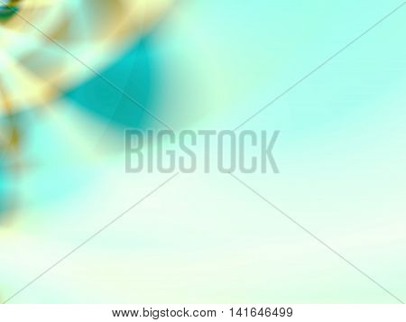 Abstract background with gradient multiple colors for ppt template -light blue, greenish yellow, white.