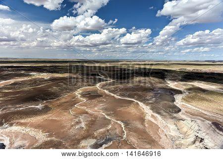 Blue Mesa - Petrified Forest National Park