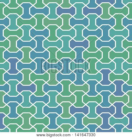 Seamless geometric colorful pattern for your designs and backgrpounds. Modern vector ornament with repeating elements