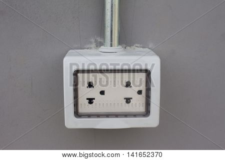 British wall double plug socket power, socket, white, energy, outlet, plug, wall,