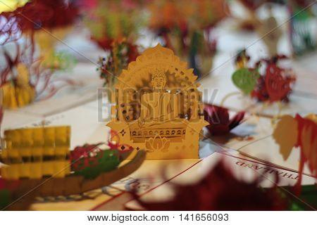 Buddhism Buddha card for free Thailand Summer 2016