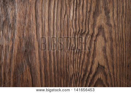 Grunge wooden texture. Dark natural wood, rustic ackground
