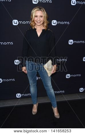 LOS ANGELES - AUG 4:  Beverley Mitchell at the 4Moms launch self-installing car seat at the Petersen Automotive Museum on August 4, 2016 in Los Angeles, CA