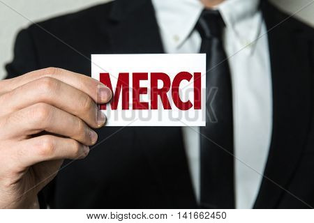 Thank You (in French)