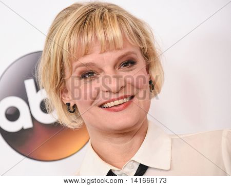 LOS ANGELES - AUG 04:  Martha Plimpton arrives to the ABC TCA Press Party 2016 on August 04, 2016 in Hollywood, CA