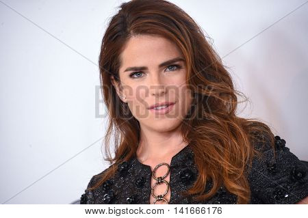 LOS ANGELES - AUG 04:  Karla Souza arrives to the ABC TCA Press Party 2016 on August 04, 2016 in Hollywood, CA