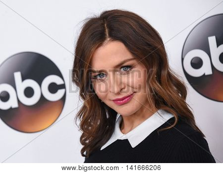 LOS ANGELES - AUG 04:  Caterina Scorsone arrives to the ABC TCA Press Party 2016 on August 04, 2016 in Hollywood, CA