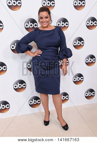 LOS ANGELES - AUG 04:  Katy Mixon arrives to the ABC TCA Press Party 2016 on August 04, 2016 in Hollywood, CA