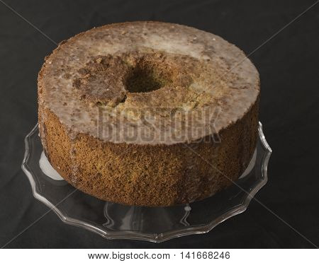 Chiffon Cake With Spices And Green Tea