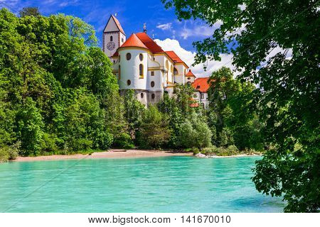 Bavarian castles - pictorial Fussen . Germany