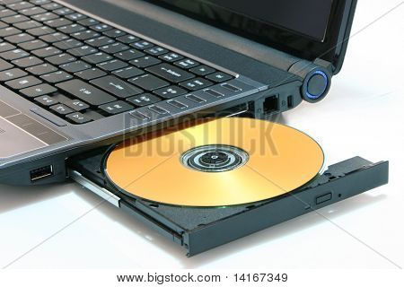 DVD on computer