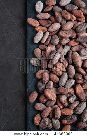 Cacao Beans Background