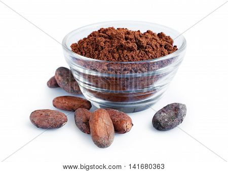 Cacao Beans And Powder