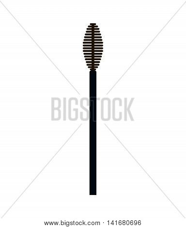 brush make up style product icon. Isolated and flat illustration. Vector graphic