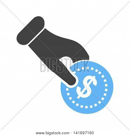 Money, shop, fund icon vector image.Can also be used for shopping. Suitable for web apps, mobile apps and print media.
