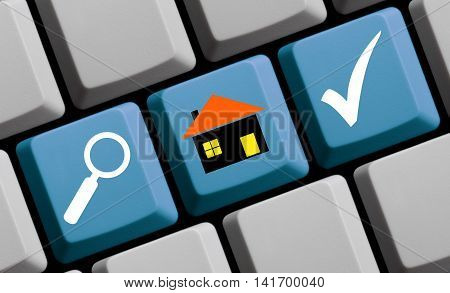 Find your new house or flat online
