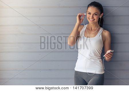 Beautiful Sports Lady