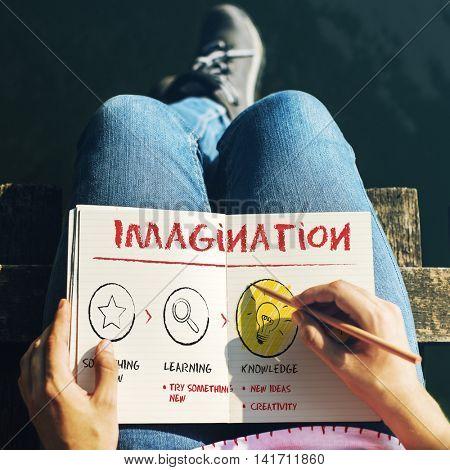 Create Imagination Innovation Inspiration Ideas Concept