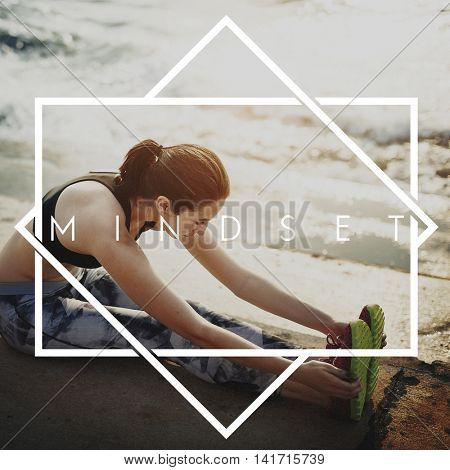 Mindset Choice Focus Mindful Spiritual State Concept