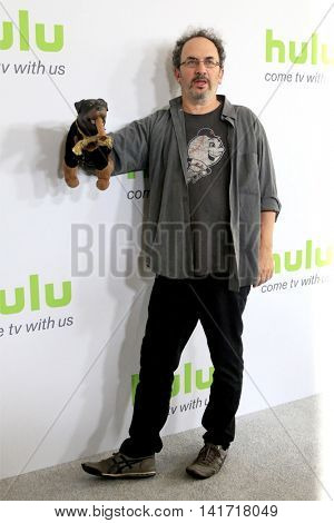 LOS ANGELES - AUG 5:  Triumph the Insult Comic Dog, Robert Smigel at the HULU TCA Summer 2016 Press Tour at the Beverly Hilton Hotel on August 5, 2016 in Beverly Hills, CA