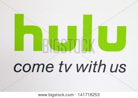 LOS ANGELES - AUG 5:  HULU Signage at the HULU TCA Summer 2016 Press Tour at the Beverly Hilton Hotel on August 5, 2016 in Beverly Hills, CA