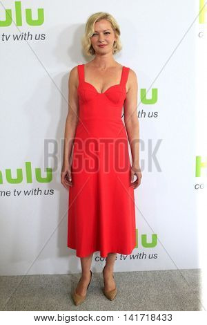 LOS ANGELES - AUG 5:  Gretchen Mol at the HULU TCA Summer 2016 Press Tour at the Beverly Hilton Hotel on August 5, 2016 in Beverly Hills, CA
