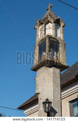 religious monument - Stock Image - the municipality Haslach