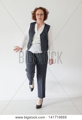 Senior lady