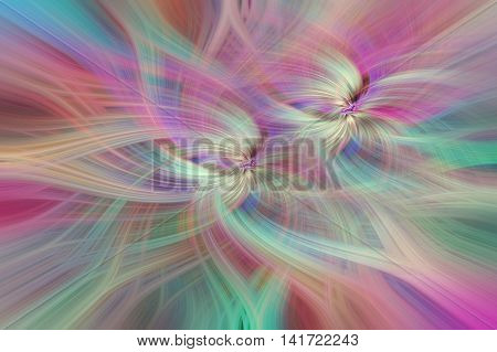 Rainbow colored abstract patterns. Concept Creativity Vibrations. Series human values