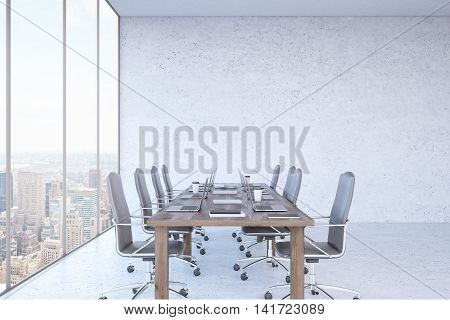 Massive Table Office Interior