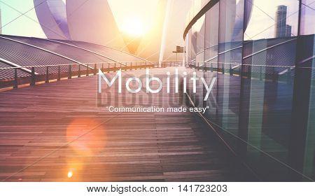 Mobility Communication Technology Connection Conversation Concept