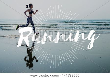Run Hurry Activity Rush Speed Sprint Exercise Fit Concept