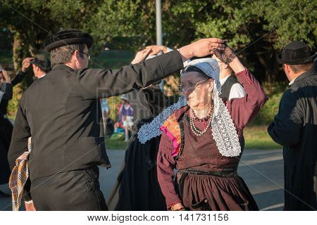 Couples Dancing In A Show