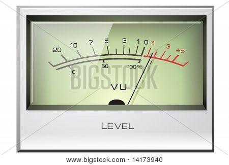 Analog signal meter