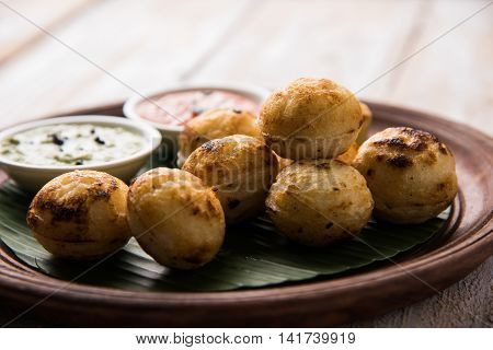 south indian famous food Appe or Appam or Rava Appe