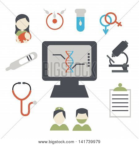 Design concept for reproductive medicine. Diagnosis and treatment.