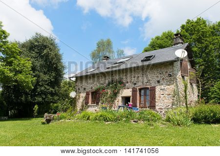 Lovely French house in nature