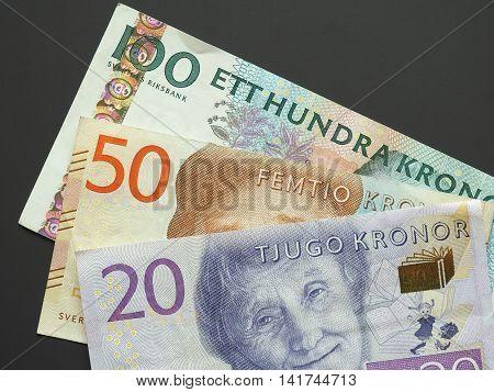 Swedish Krona (sek) Notes, Currency Of Sweden (se)