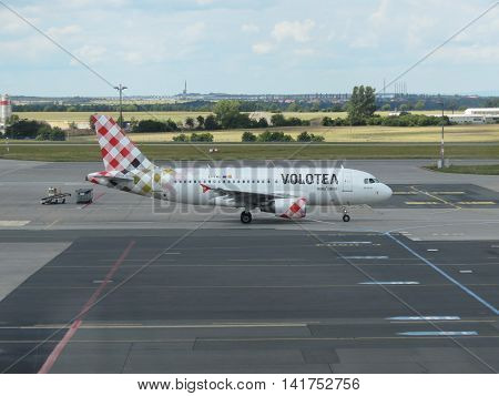 Volotea Airbus A319 On The Runway