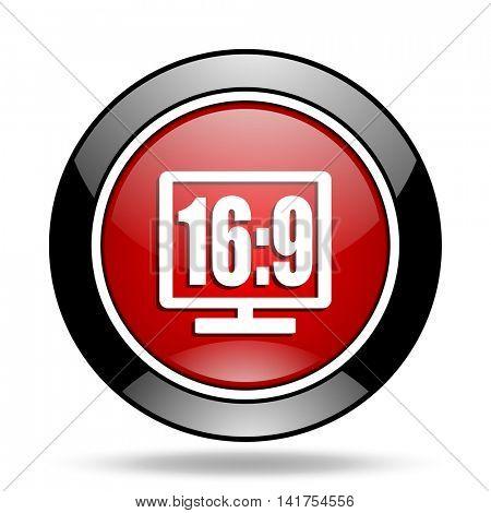 16 9 display icon
