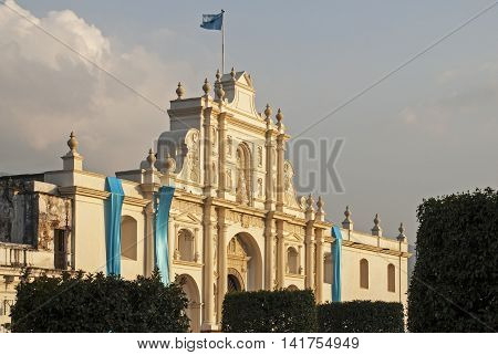 Roman Catholic Cathedral Saint Joseph in Antigua Guatemala