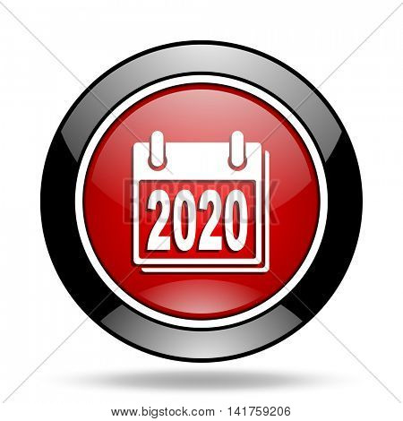 new year 2020 icon