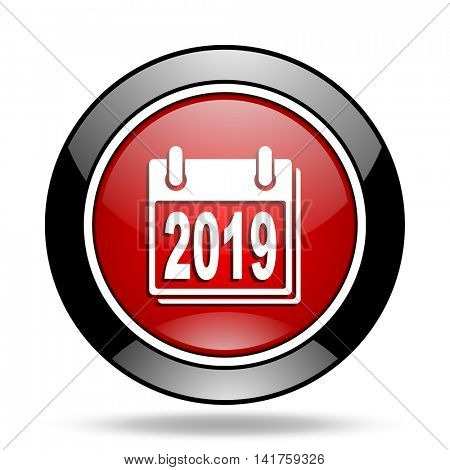 new year 2019 icon