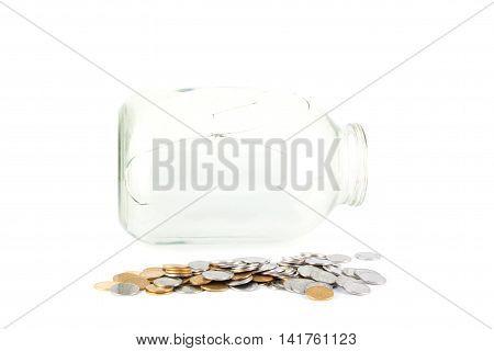 Broken Jar And The Jar Of Coins